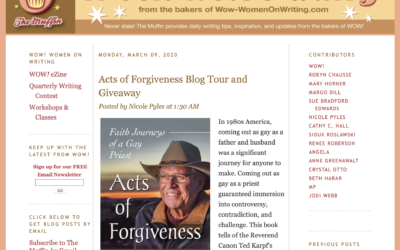 Blog Tour: The Muffin interviews Ted about Acts of Forgiveness